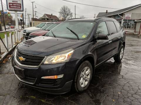 2015 Chevrolet Traverse for sale at Richland Motors in Cleveland OH