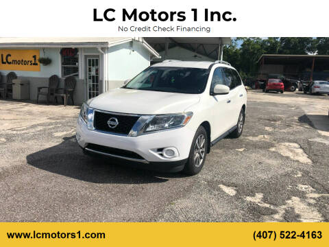 2014 Nissan Pathfinder for sale at LC Motors 1 Inc. in Orlando FL