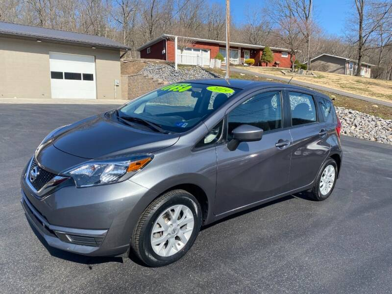 2019 Nissan Versa Note for sale at Route 28 Auto Sales in Ridgeley WV