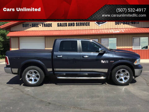 2013 RAM Ram Pickup 1500 for sale at Cars Unlimited in Marshall MN