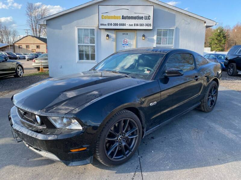 2011 Ford Mustang for sale at COLUMBUS AUTOMOTIVE in Reynoldsburg OH