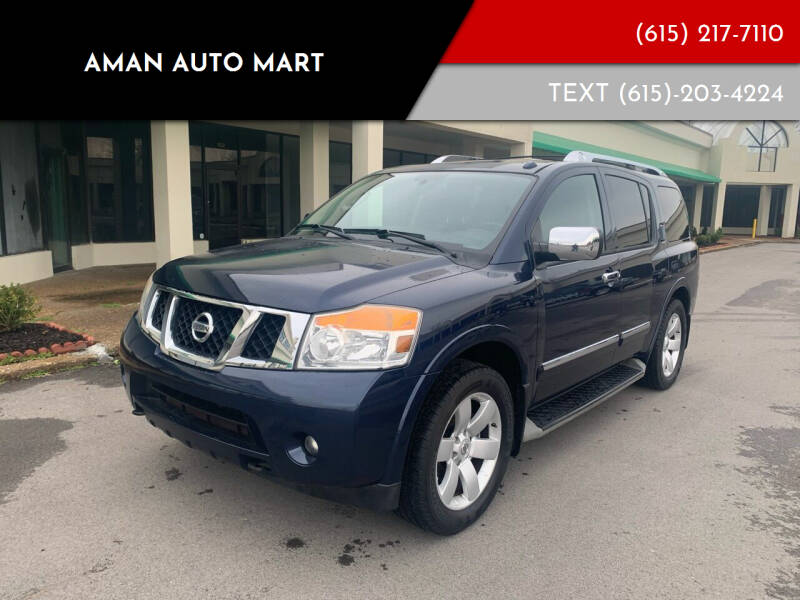 2011 Nissan Armada for sale at Aman Auto Mart in Murfreesboro TN