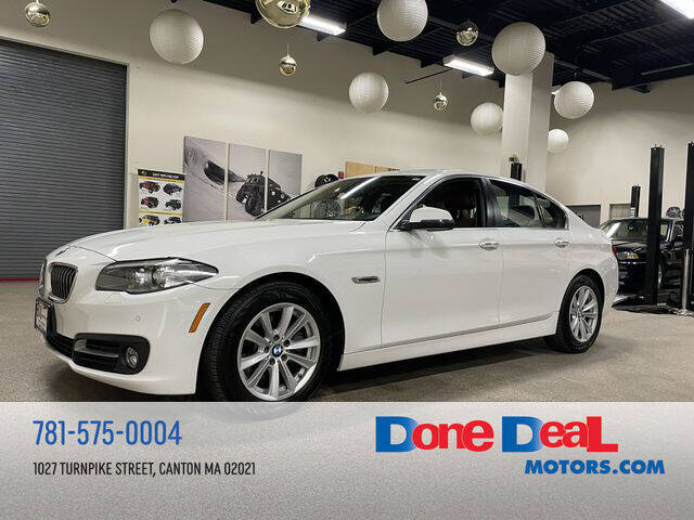 2016 BMW 5 Series for sale at DONE DEAL MOTORS in Canton MA