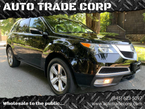 2012 Acura MDX for sale at AUTO TRADE CORP in Nanuet NY