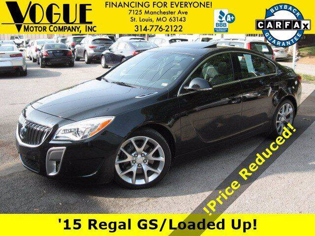 2015 Buick Regal for sale at Vogue Motor Company Inc in Saint Louis MO