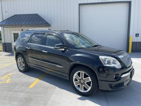 2012 GMC Acadia for sale at B&M Motorsports in Springfield IL