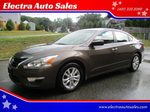 2015 Nissan Altima for sale at Electra Auto Sales in Johnston RI