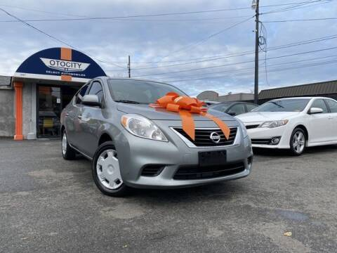 2013 Nissan Versa for sale at OTOCITY in Totowa NJ