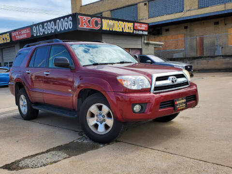 2007 Toyota 4Runner for sale at KC MOTORSPORTS in Tulsa OK