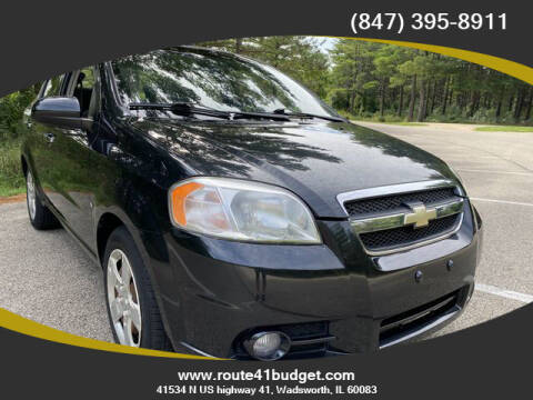 2009 Chevrolet Aveo for sale at Route 41 Budget Auto in Wadsworth IL