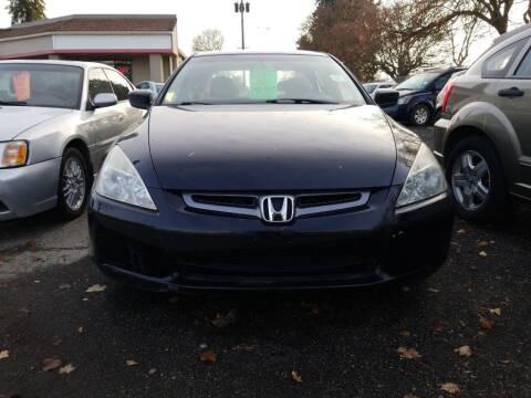 2005 Honda Accord for sale at 2 Way Auto Sales in Spokane Valley WA