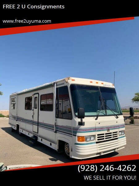1994 Damon Intruder for sale at FREE 2 U Consignments in Yuma AZ