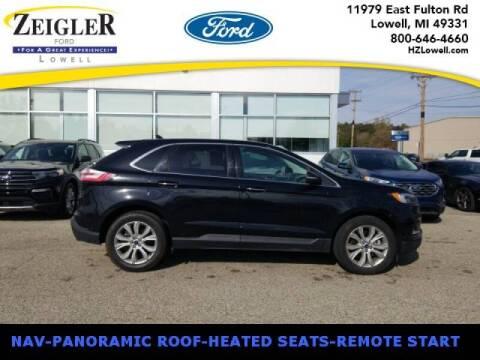 2019 Ford Edge for sale at Zeigler Ford of Plainwell- michael davis in Plainwell MI