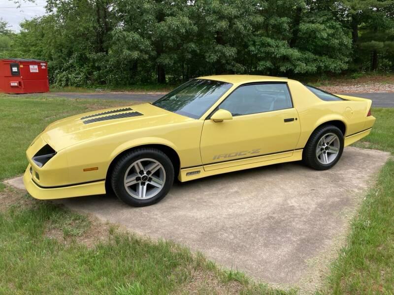 1986 Chevrolet Camaro for sale at Cella  Motors LLC in Auburn NH
