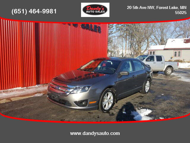 2012 Ford Fusion for sale at Dandy's Auto Sales in Forest Lake MN