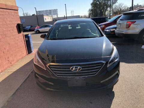 2015 Hyundai Sonata for sale at Nice Cars Auto Inc in Minneapolis MN
