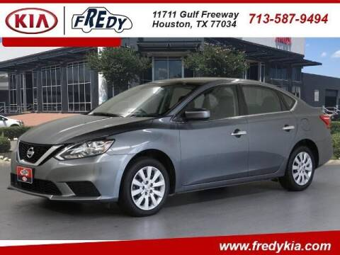 2019 Nissan Sentra for sale at FREDY KIA USED CARS in Houston TX