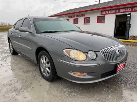 2008 Buick LaCrosse for sale at Sarpy County Motors in Springfield NE