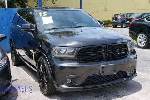 2015 Dodge Durango for sale at Michael's Auto Sales Corp in Hollywood FL
