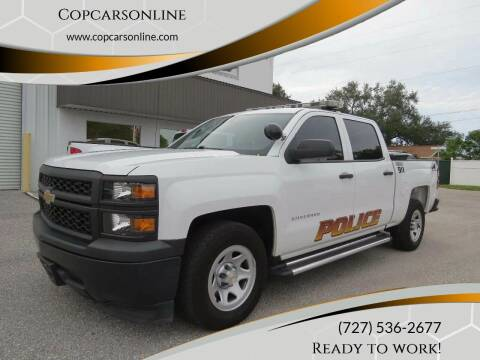 2015 Chevrolet Silverado 1500 for sale at Copcarsonline in Largo FL