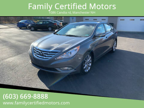2012 Hyundai Sonata for sale at Family Certified Motors in Manchester NH