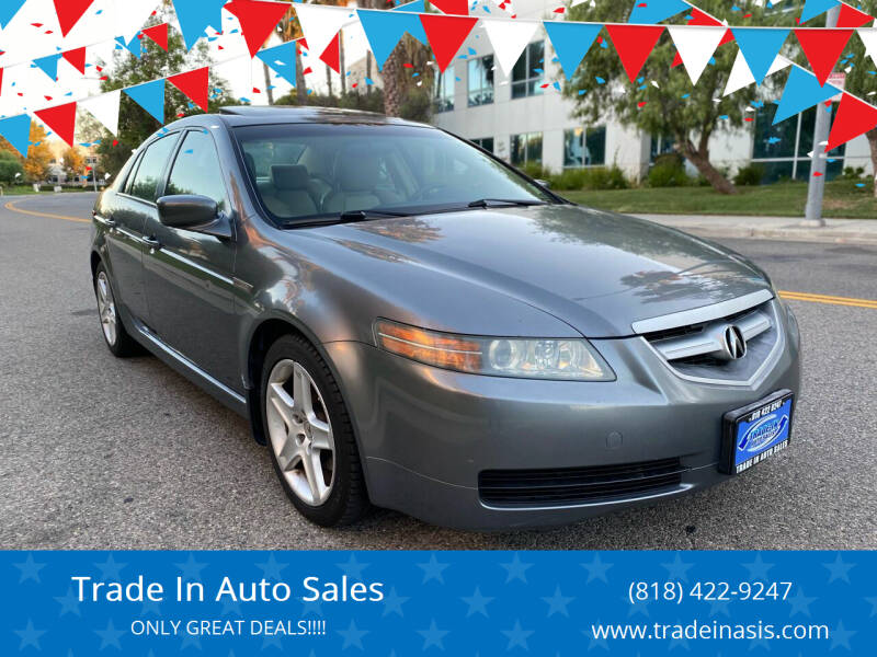 2006 Acura TL for sale at Trade In Auto Sales in Van Nuys CA