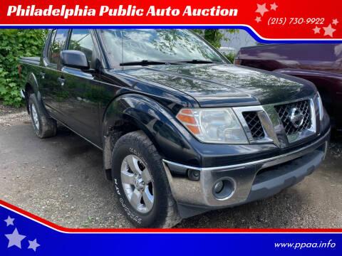 2011 Nissan Frontier for sale at Philadelphia Public Auto Auction in Philadelphia PA