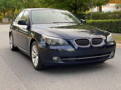 2010 BMW 5 Series for sale at Presidents Cars LLC in Orlando FL