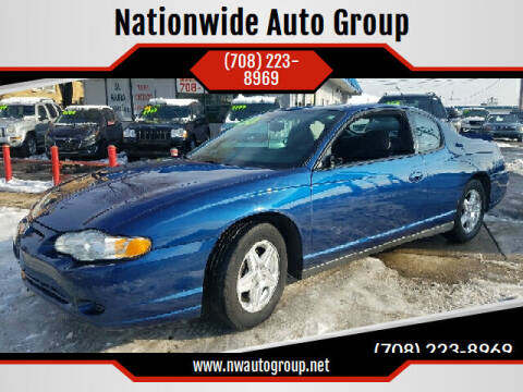 2005 Chevrolet Monte Carlo for sale at Nationwide Auto Group in Melrose Park IL