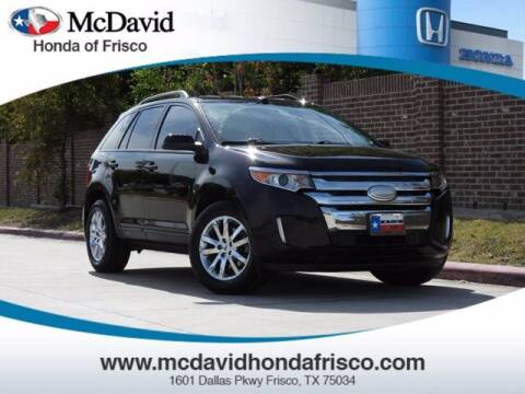 2013 Ford Edge for sale at DAVID McDAVID HONDA OF IRVING in Irving TX