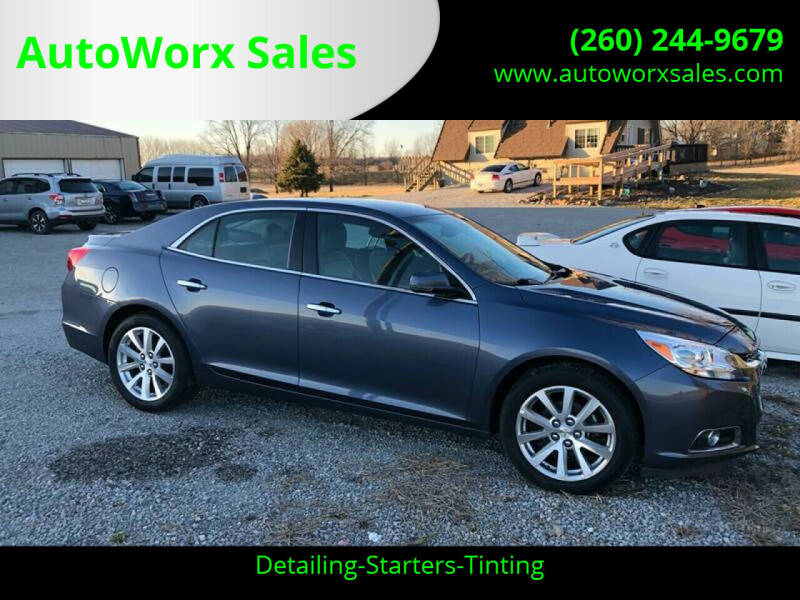 2014 Chevrolet Malibu for sale at AutoWorx Sales in Columbia City IN