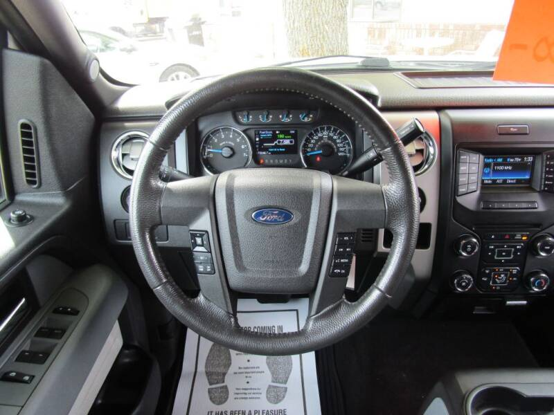 2014 Ford F-150 SUPERCREW XLT 4WD - Moorhead MN