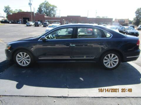 2012 Volkswagen Passat for sale at Taylorsville Auto Mart in Taylorsville NC