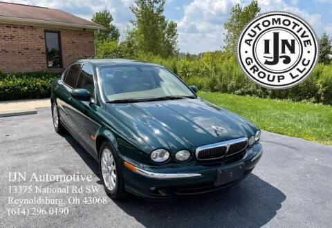 2003 Jaguar X-Type for sale at IJN Automotive Group LLC in Reynoldsburg OH