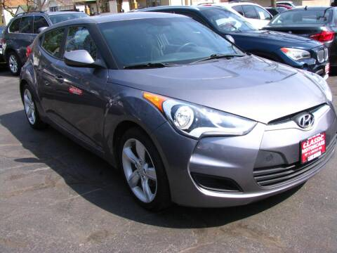 2014 Hyundai Veloster for sale at CLASSIC MOTOR CARS in West Allis WI