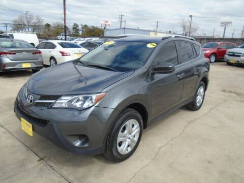 2015 Toyota RAV4 for sale at BAS MOTORS in Houston TX