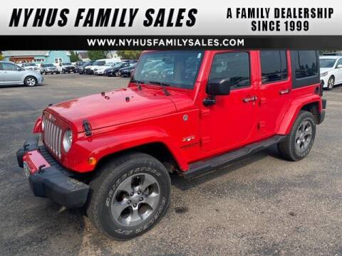 2017 Jeep Wrangler Unlimited for sale at Nyhus Family Sales in Perham MN