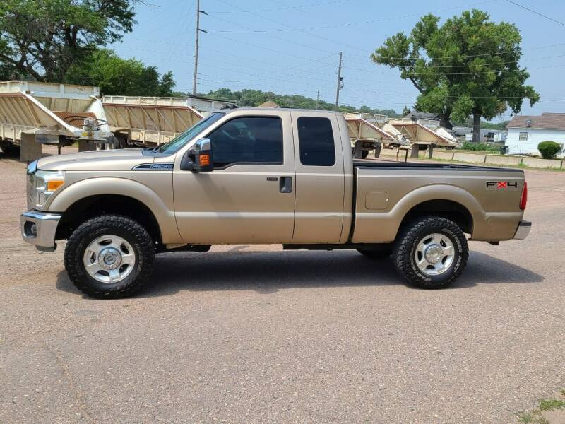 2011 Ford F-250 Super Duty for sale at J & J Auto Sales in Sioux City IA