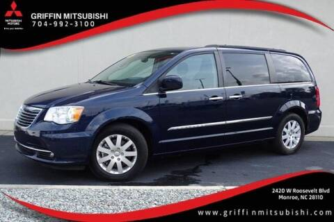 2016 Chrysler Town and Country for sale at Griffin Mitsubishi in Monroe NC
