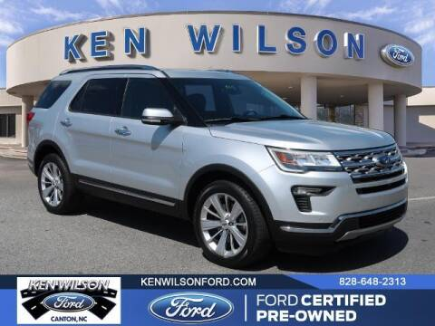 2019 Ford Explorer for sale at Ken Wilson Ford in Canton NC