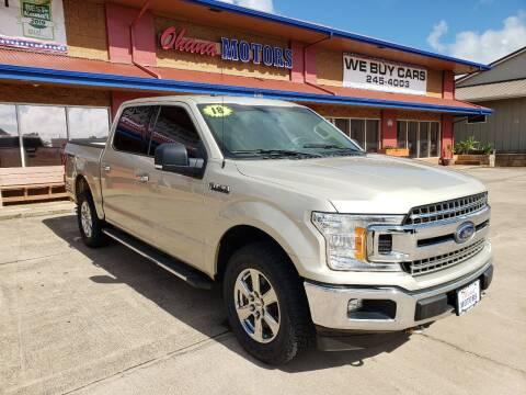 2018 Ford F-150 for sale at Ohana Motors in Lihue HI