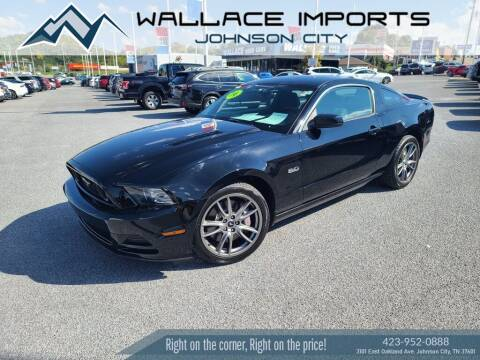 2014 Ford Mustang for sale at WALLACE IMPORTS OF JOHNSON CITY in Johnson City TN