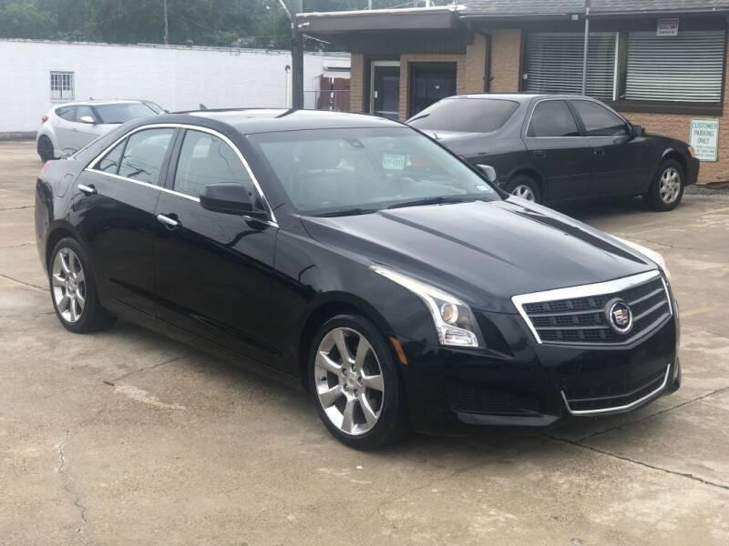 2014 Cadillac ATS for sale at Safeen Motors in Garland TX