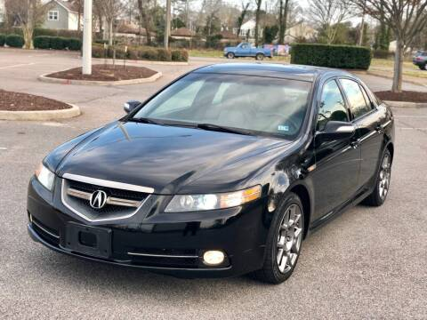 2007 Acura TL for sale at Supreme Auto Sales in Chesapeake VA