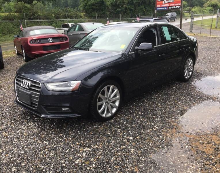 2013 Audi A4 for sale at Arden Auto Outlet in Arden NC