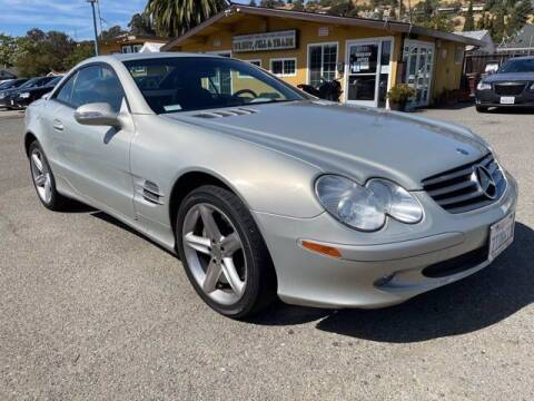 2003 Mercedes-Benz SL-Class for sale at MISSION AUTOS in Hayward CA