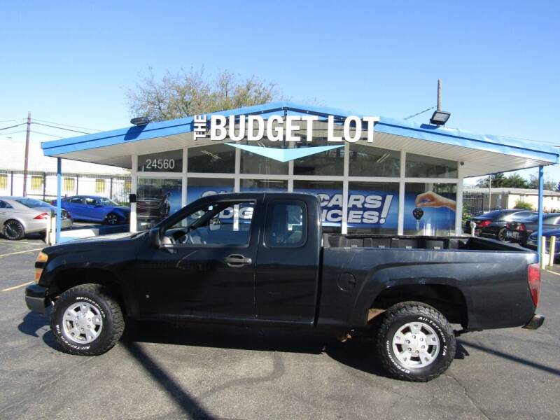 2008 Chevrolet Colorado for sale at THE BUDGET LOT in Detroit MI