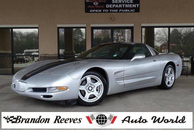 1999 Chevrolet Corvette for sale at Brandon Reeves Auto World in Monroe NC
