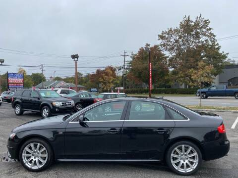 2012 Audi A4 for sale at Primary Motors Inc in Commack NY