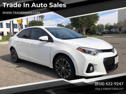 2014 Toyota Corolla for sale at Trade In Auto Sales in Van Nuys CA